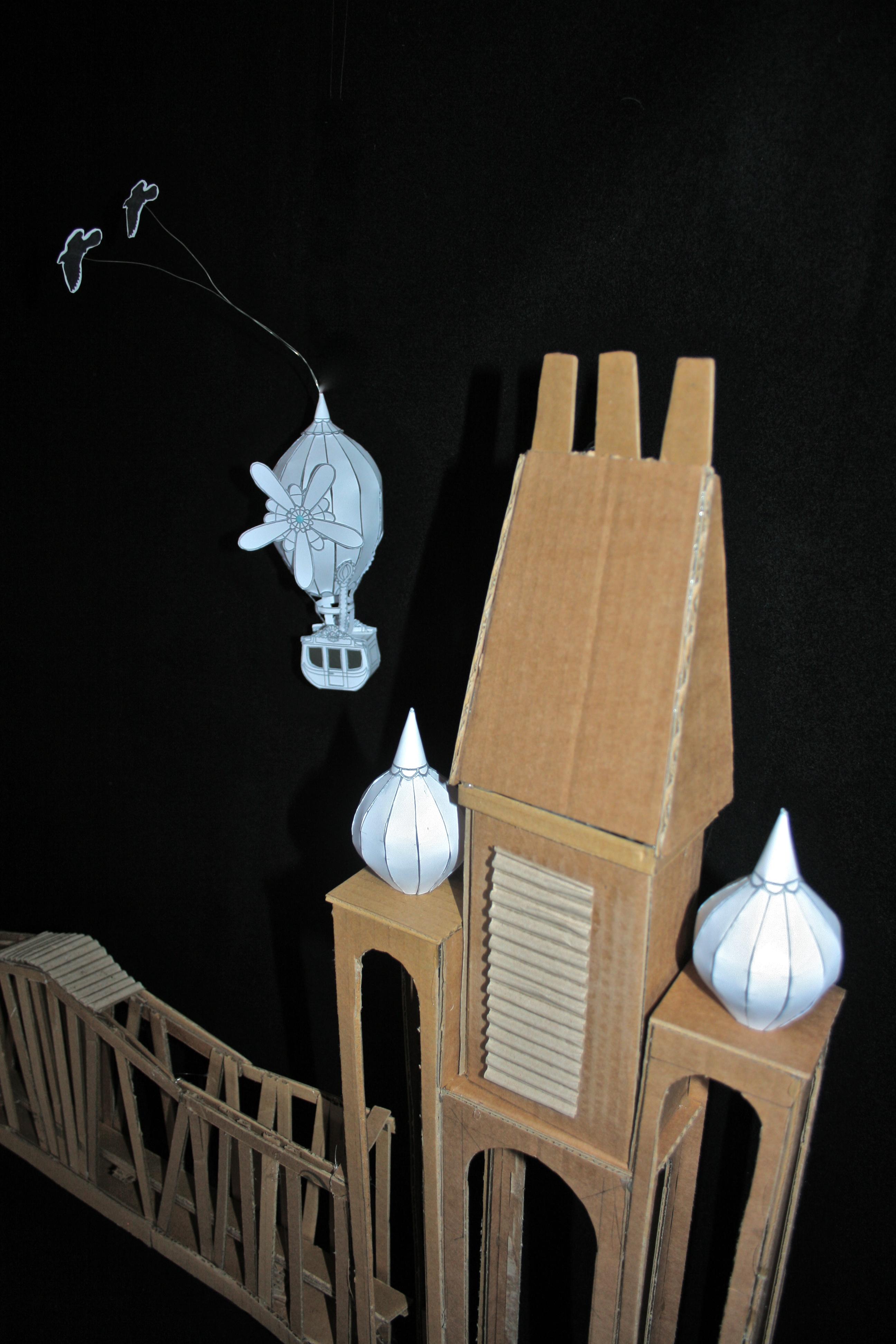 Cardboard Models  modelling | Bonker*s Clutterbucks