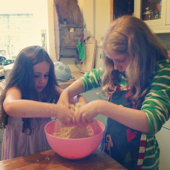 Rock cake making!