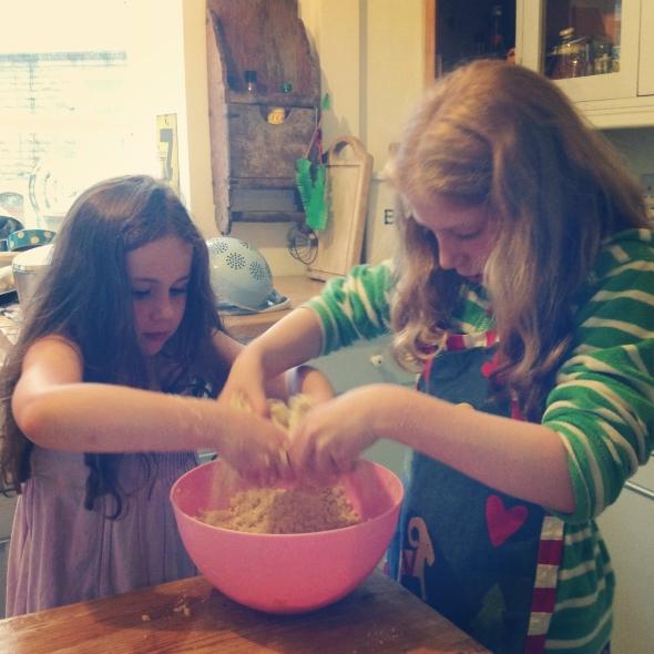 Rock cake making!