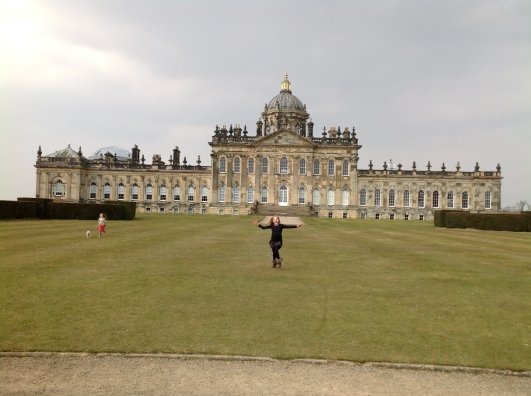 Space to run and cartwheel appreciated, Castle Howard