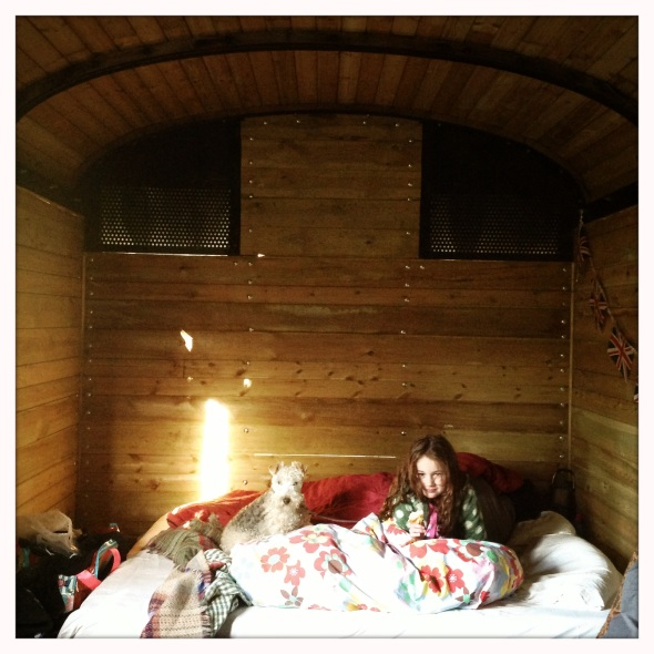 Snug as two bugs in a rug! Glamping near Torver.