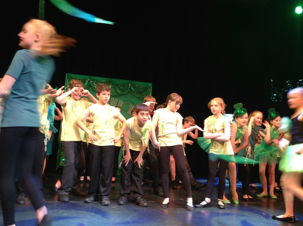 Florrie is an Ozian in the school production of Wicked!