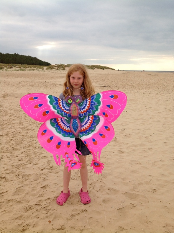 Kite flying at Wells-next-the -sea