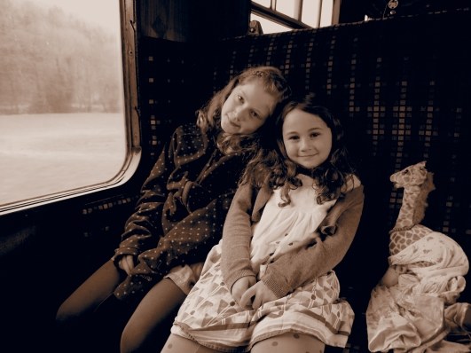 Experiencing vintage British Rail carriage......