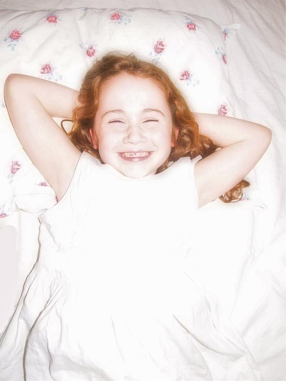 Happy Heidi-hop (age 7).