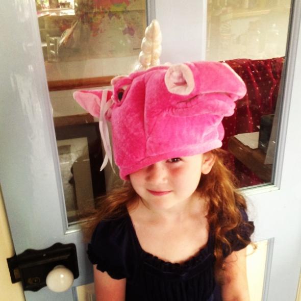 Heidi's going to a unicorn party!