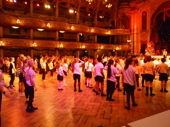 Blackpool Tower Ballroom Book Launch