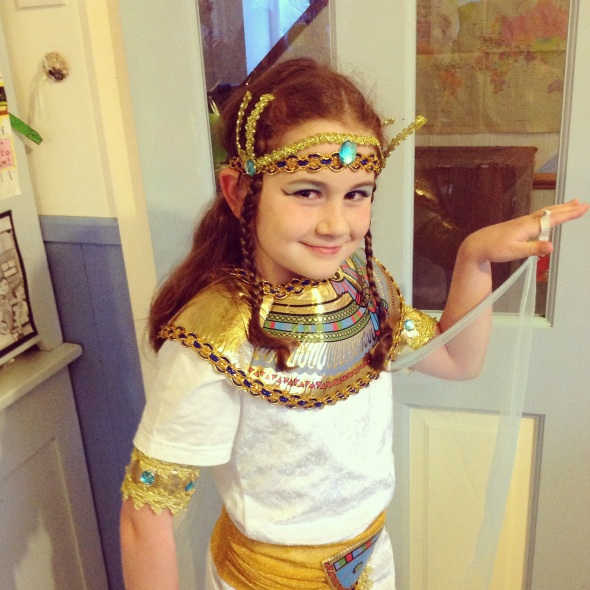 Egyptian day at school