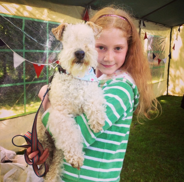 Samlesbury Hall Dog Show