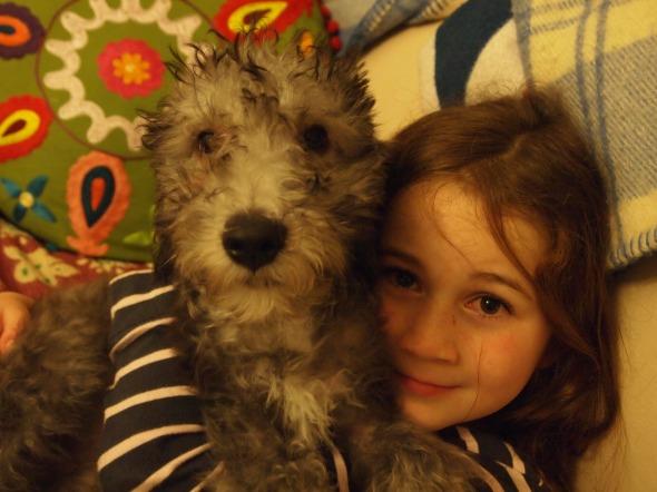 Beanie and Heidi