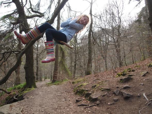 Can't beat a good rope swing! Hardcastle Crags