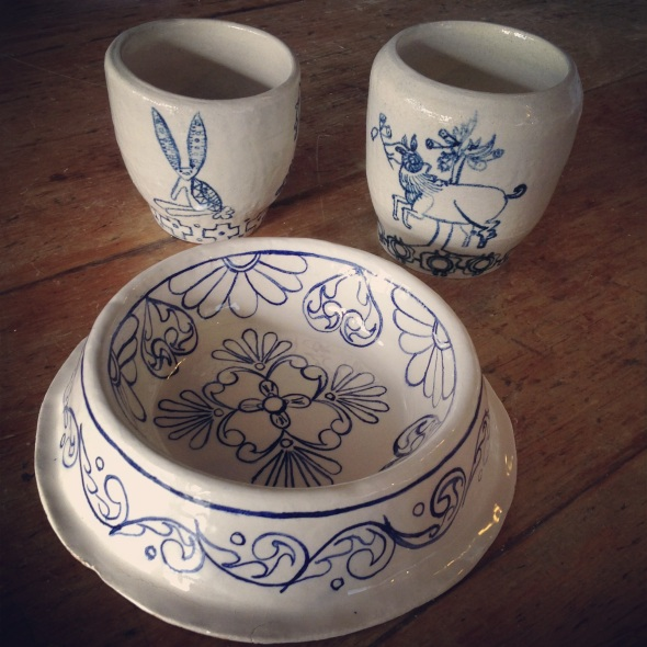 Stumbled upon these wonderful bowls by Tampico Tiles £3.50 each!