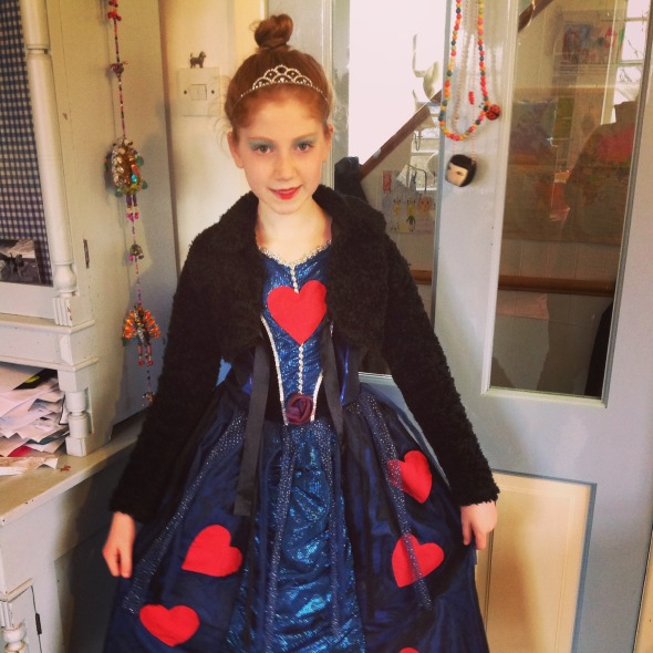 Queen of Hearts for #worldbookday