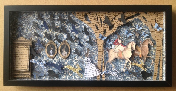 Current Rabbit Diorama Box Frames | Bonker*s Clutterbucks