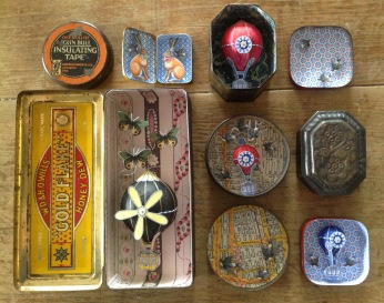 Selection of Tin Pieces