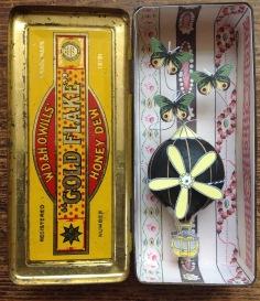 Tobacco tin diorama